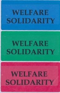 Welfare Stickers